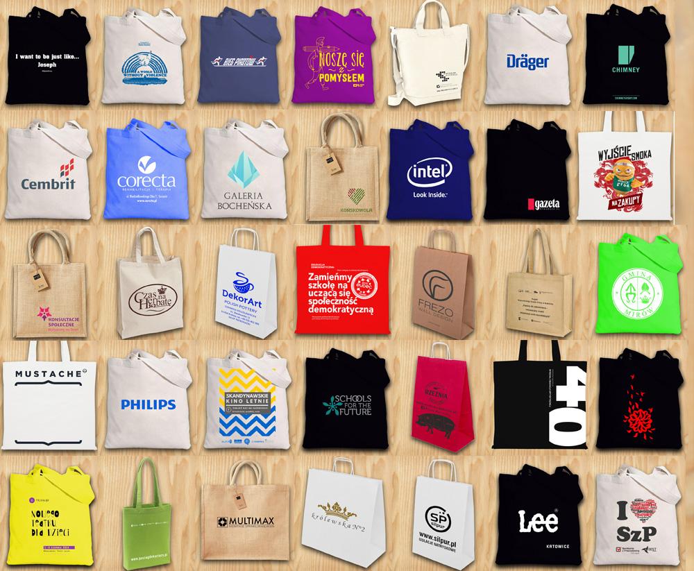torby z nadrukiem realizacje