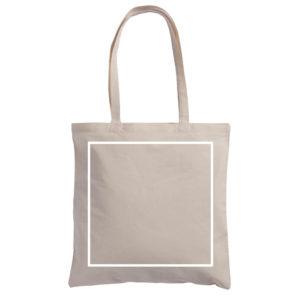 Pole zadruku torby bawełnianej