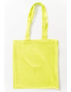 Torba bawełniana limonkowa