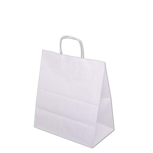 Torba papierowa biała 40x18x39