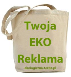 torba bawełniana   eko reklama