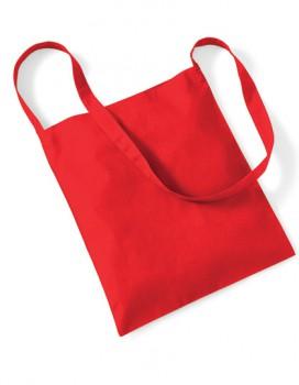 Torba bawełniana sling B6 czerwona