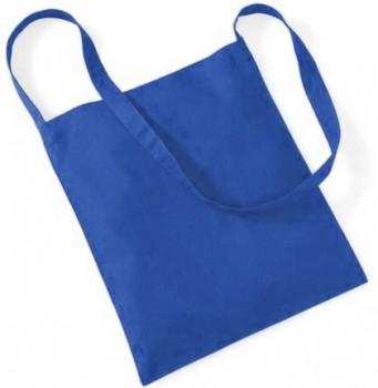 Torba bawełniana sling B6 niebieska