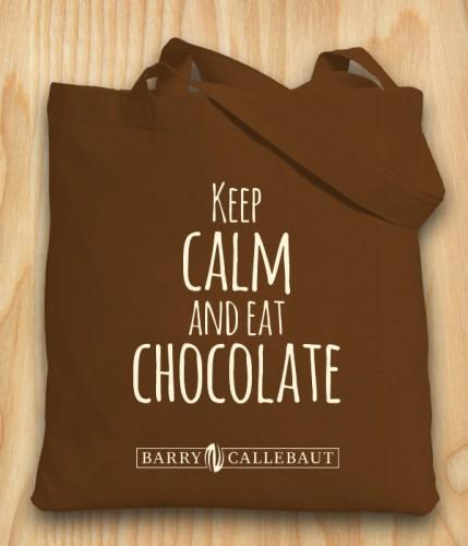 Keep calm and eat chocolade