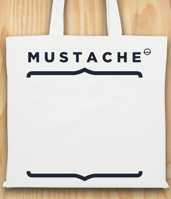 Torba bawełniana Mustache