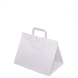 Torebka papierowa biala 320x220x245 mm