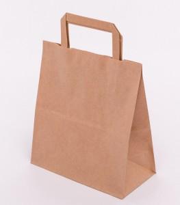torba papierowa z plaskim uchem