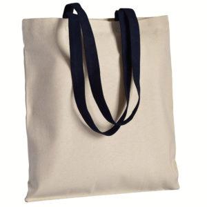 Gruba torba bawełniana z uszami czarnymi