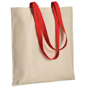 Gruba torba bawełniana z uszami czerwonymi