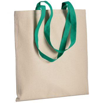 Gruba torba bawełniana z uszami zielonymi