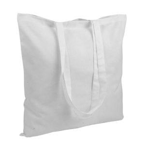 Gruba torba bawełniana biała
