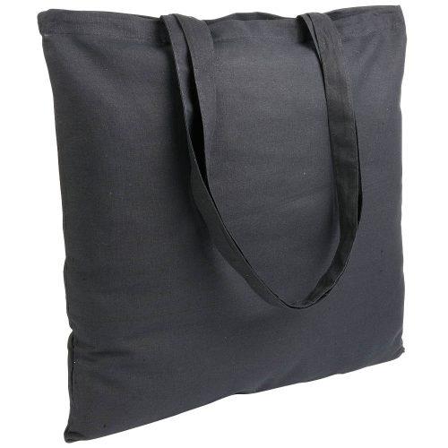 Gruba torba bawełniana czarna
