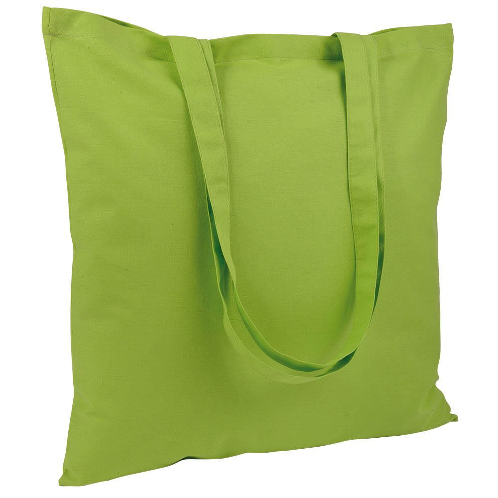 Gruba torba bawełniana jasnozielona
