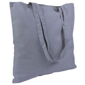Gruba torba bawełniana szara