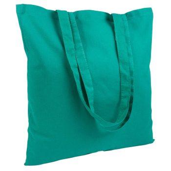 Gruba torba bawełniana zielona