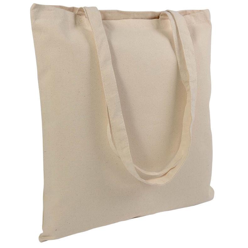40c954b0e35cc Gruba torba bawełniana płócienna naturalna 220g - cena od 2,70 zł