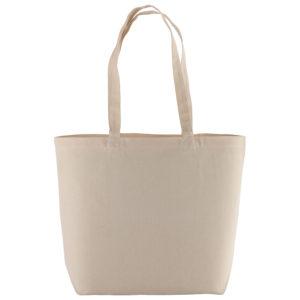 Duża torba materiałowa na zakupy