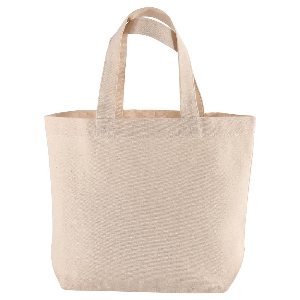 Fantastyczny Mała torba bawełniana na zakupy bez nadruku Promo B28.jpg - Torby PC38