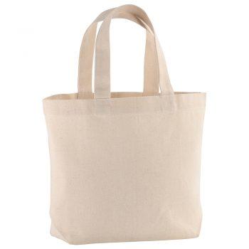 Mała torba płócienna na zakupy bez nadruku Promo B28
