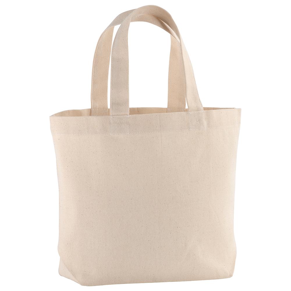 Modne ubrania Mała torba płócienna na zakupy bez nadruku Promo B28 - Torby z HX62