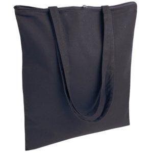 Torba bawełniana z zamkiem Promo B22 czarna