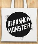 Torba-bawelniana-biala-Dead-Snow-Monster
