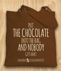 Torba bawelniana czekoladowa Barrycalebaut
