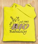 Torba bawelniana zolta Babalscy Bio