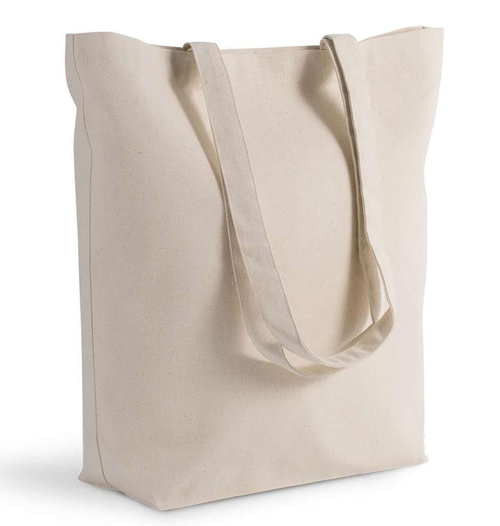 Gruba duża torba bawełniana z dnem Premium B2