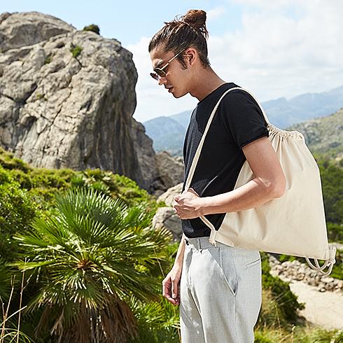 Plecak worek bawelniany organiczny_WM260
